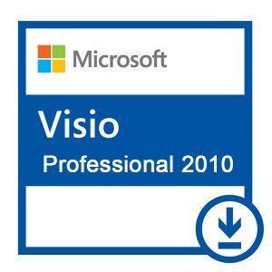 MICROSOFT VISIO PROFESSIONAL 2010 32/64 BIT LICENZA