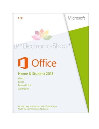 MICROSOFT OFFICE 2013 HOME AND STUDENT 32/64 BIT