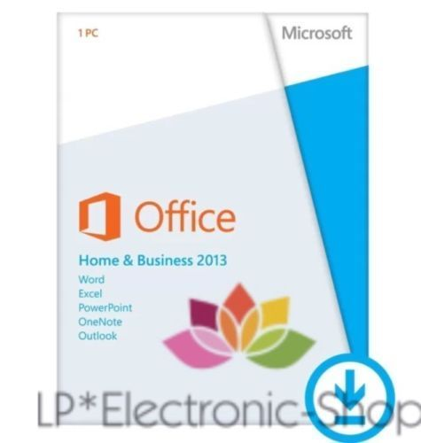 Office 2013 home and business 32 64bit lp electronic - Windows office home and business ...