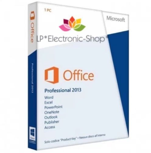 MICROSOFT OFFICE 2013 PROFESSIONAL 32/64 BIT