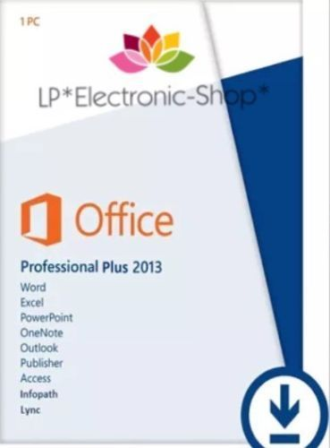MICROSOFT OFFICE 2013 PROFESSIONAL PLUS VL 32/64 BIT Licenza