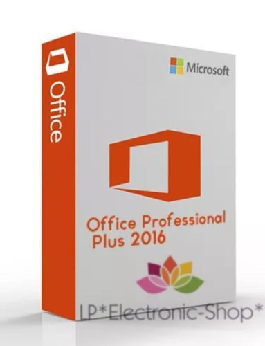 MICROSOFT OFFICE 2016 PROFESSIONAL PLUS VL 32/64 BIT