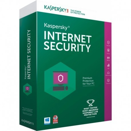 KASPERSKY INTERNET SECURITY 2019 - 1 PC - 1 ANNO - ESD - NUOVO