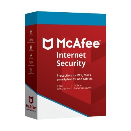 MCAFEE INTERNET SECURITY 1 ANNO DISPOSITIVI ILLIMITATI ESD
