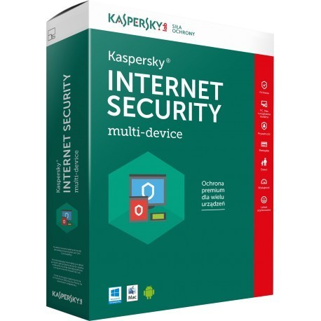 KASPERSKY INTERNET SECURITY Multi-Device 2019 5 PC 1 ANNO LICENZA ESD