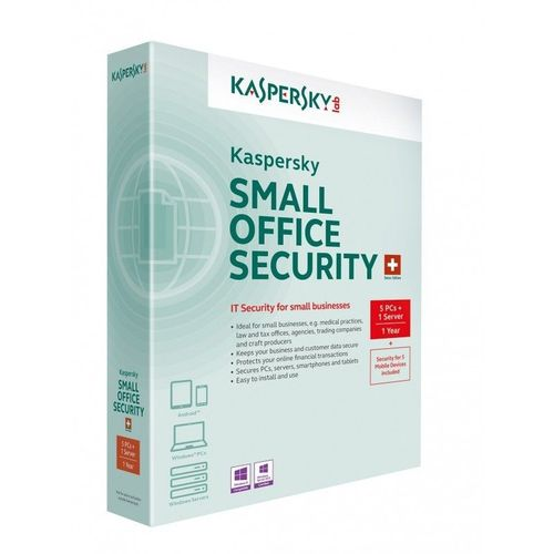 KASPERSKY SMALL OFFICE SECURITY 5 PC - 1 SERVER - 1 ANNO - ESD - NUOVO