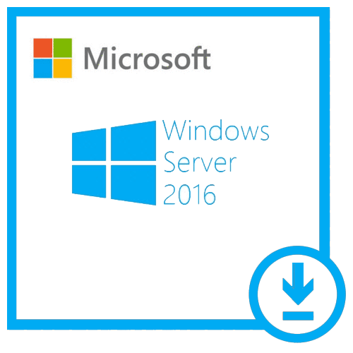 MICROSOFT WINDOWS SERVER 2016 STANDARD VL