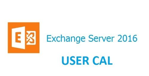 MICROSOFT EXCHANGE SERVER USER CAL 2016 LICENZA