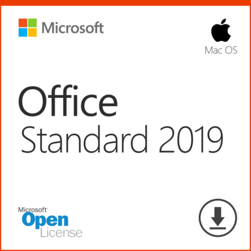 MICROSOFT OFFICE MAC 2019 STANDARD LICENZA ESD