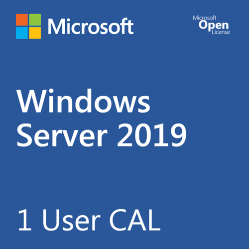 MICROSOFT WINDOWS SERVER 2019 USER CAL VL
