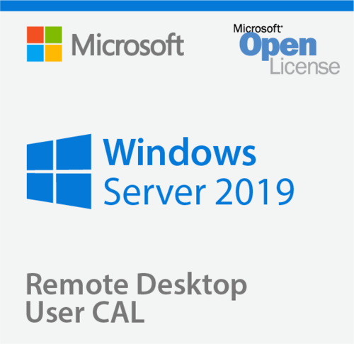MICROSOFT REMOTE DESKTOP SERVICES SERVER 2019 USER CAL VL