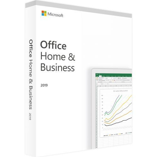 Microsoft OFFICE 2019 HOME AND BUSINESS 32/64 BIT PC/MAC Retail Nuova